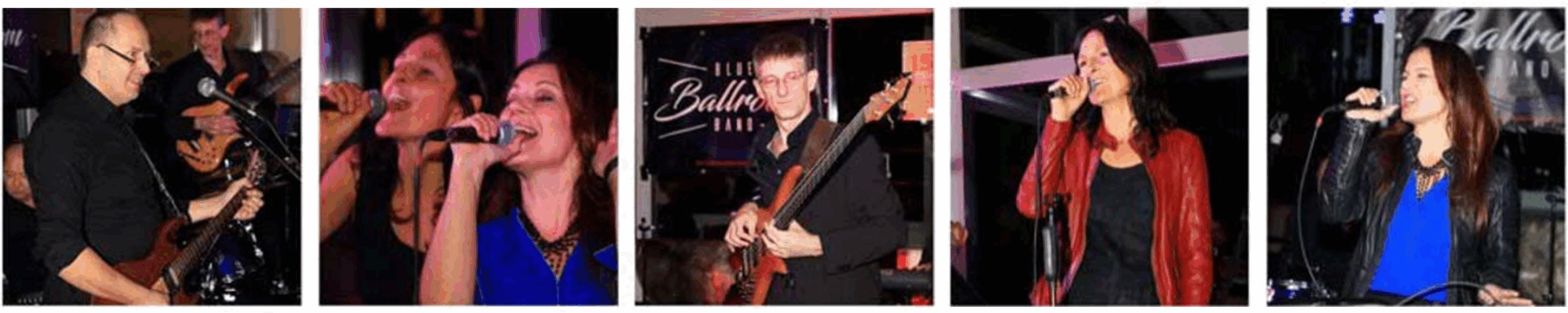 Blue Ballroom Band - Live Tanzparty  12.01.