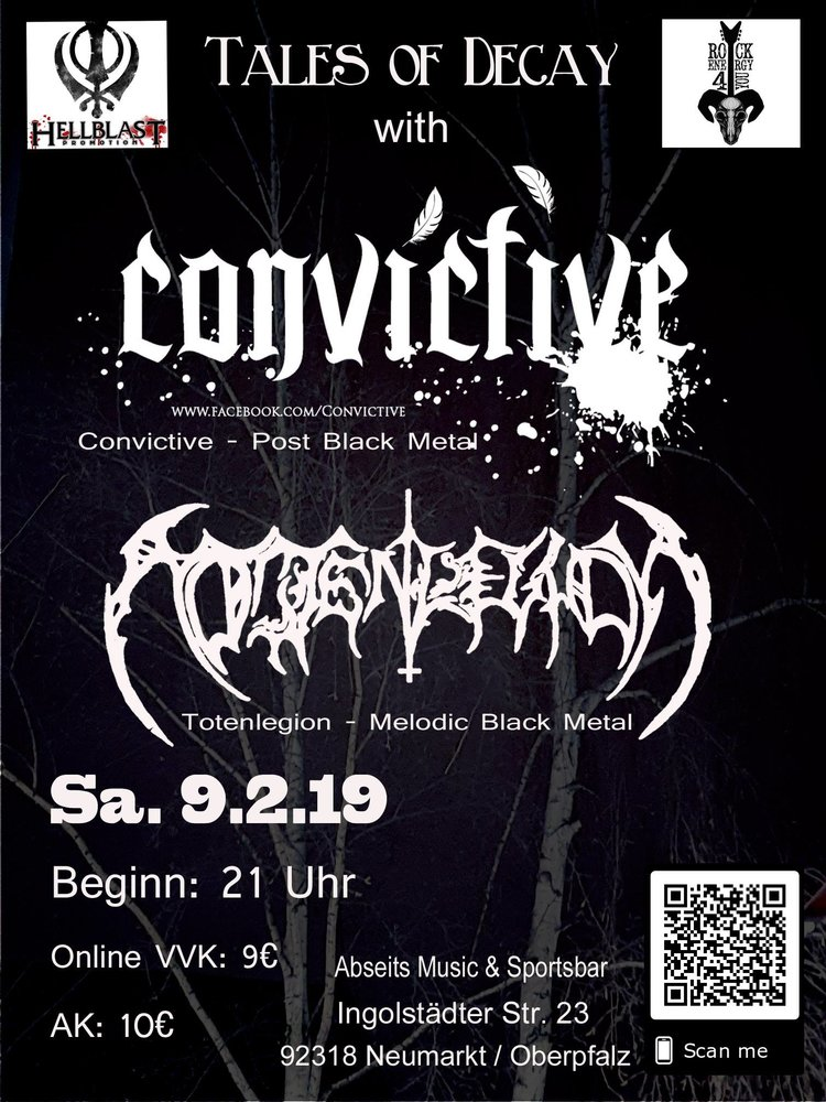 Tales of Decay with Convictive & Totenlegion