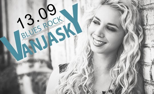 Vanja Sky – Blues Rock Live im Pink