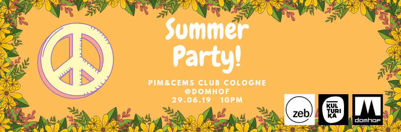 PIM&CEMS Sommerparty 2019