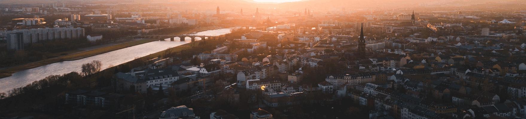 Lustige Stadtrundfahrt in sächischer Mundart Dresden  3.11.