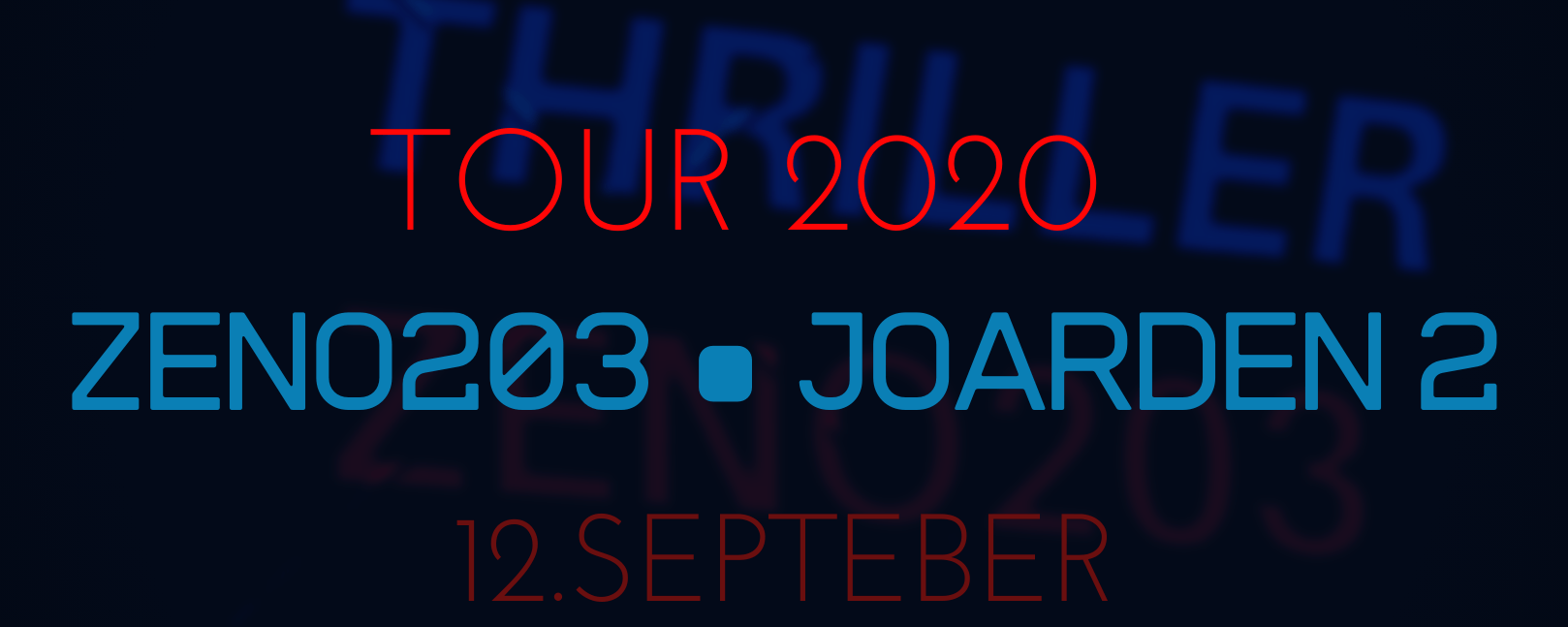 ZENO203 • JOARDEN 2 Konzert