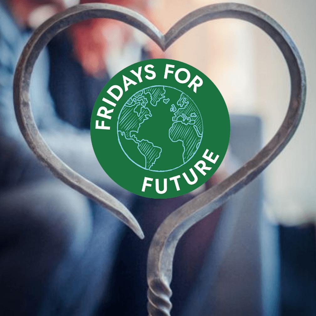 Fridays For Future Kundgebung mit Löwenherzverleihung