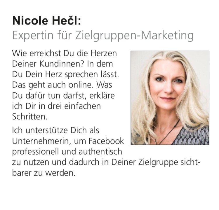 Nicole Hecl #fraumussmankönnen
