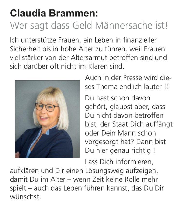 Claudia Brammen #fraumussmankönnen