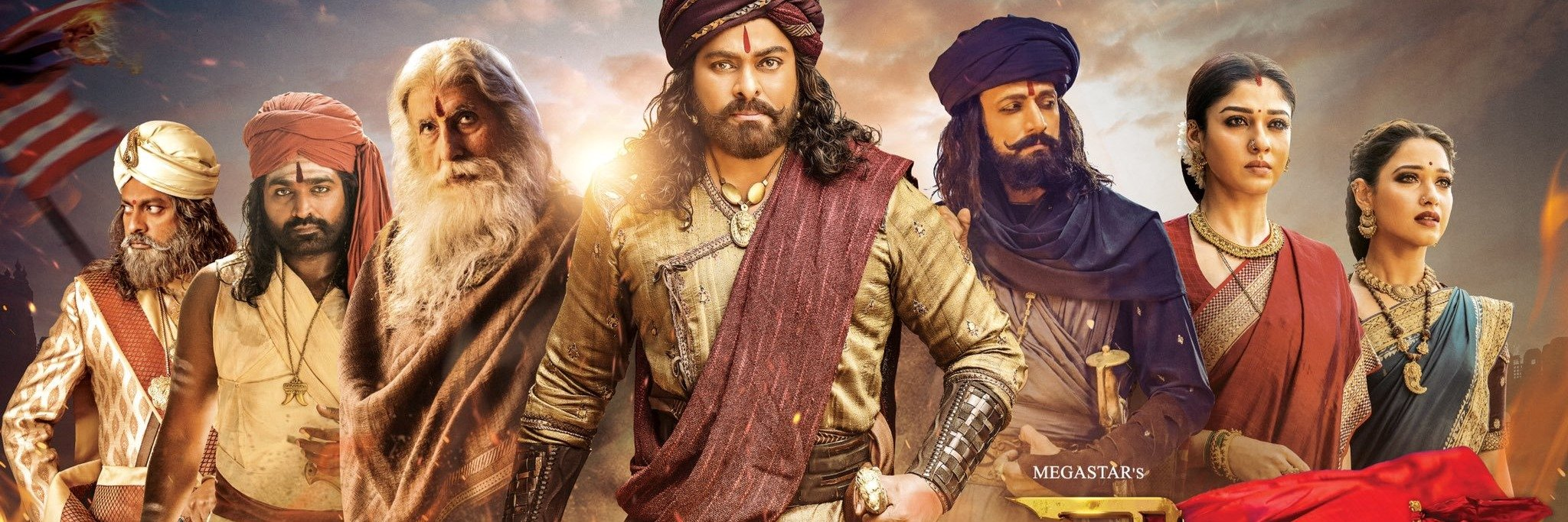Sye Raa Premier Show with Eng Subtitles