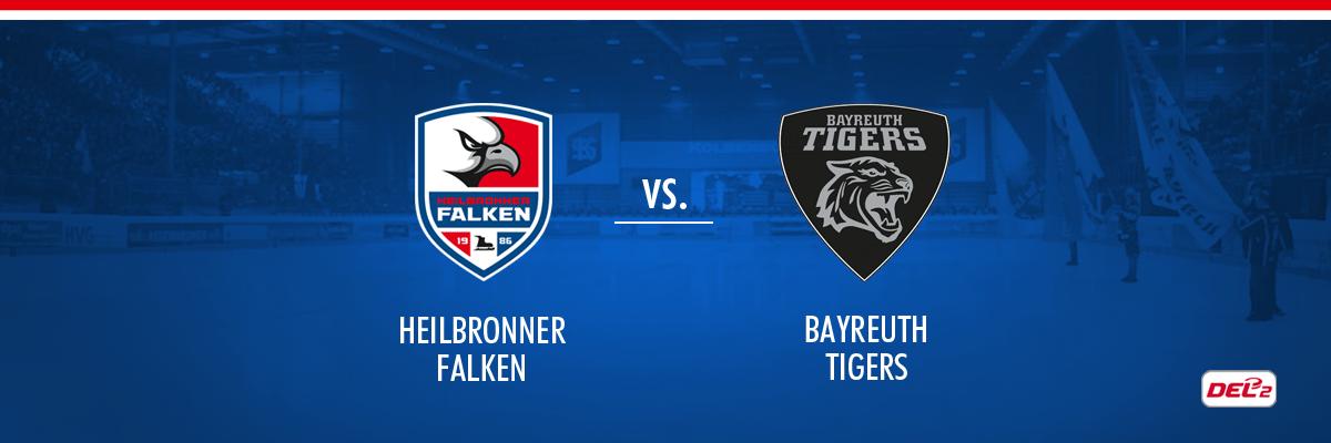 Heilbronner Falken vs Bayreuth Tigers