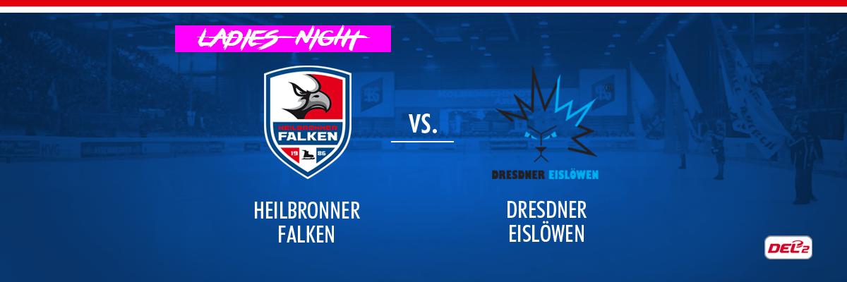 Heilbronner Falken vs Dresdner Eislöwen