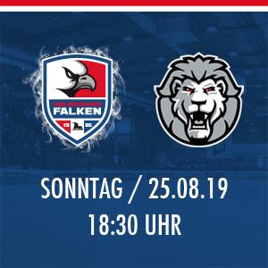 Heilbronner Falken vs. Löwen Frankfurt