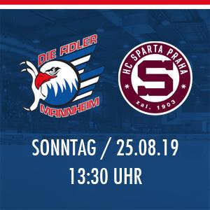 Adler Mannheim vs. HC Sparta Prag