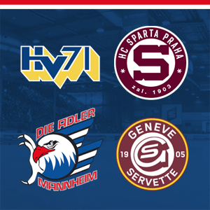 HV71 Jönköping vs. HC Sparta Prag & Adler Mannheim vs. HC Ge...