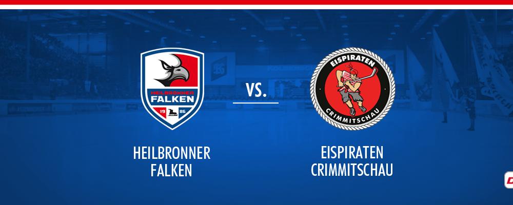 Heilbronner Falken vs Eispiraten Crimmitschau