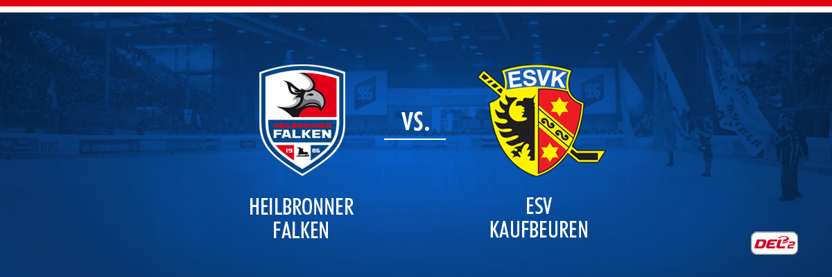 Heilbronner Falken vs ESV Kaufbeuren