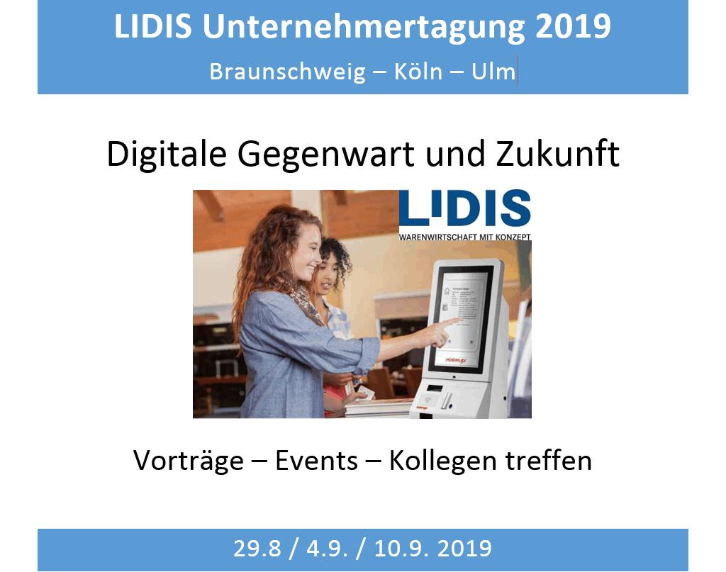 LIDIS Unternehmertagung 2019 in Köln